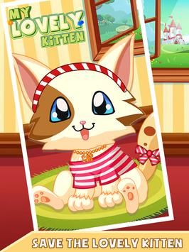 My Lovely Kitten - Virtual Cat poster