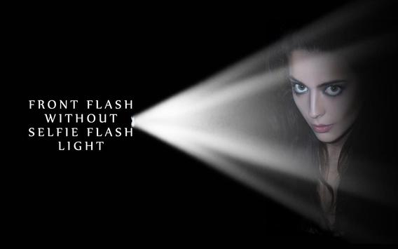 HD Flash Light Selfie Camera poster
