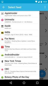 My RSS Feeds apk screenshot