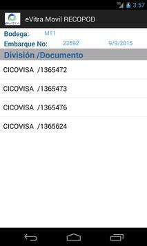 Solicitud de Evidencia Evitra screenshot 1