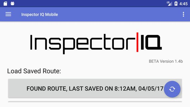 Inspector IQ Route Management screenshot 1