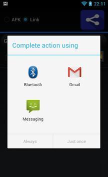 Easy Share Apps apk screenshot