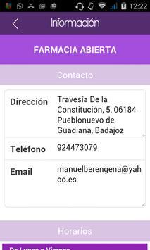 Farmacia Berengena apk screenshot