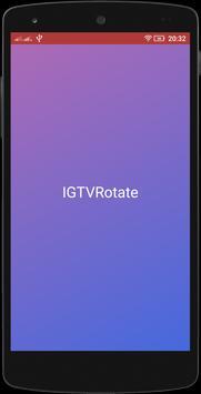 IGTVRotate screenshot 1