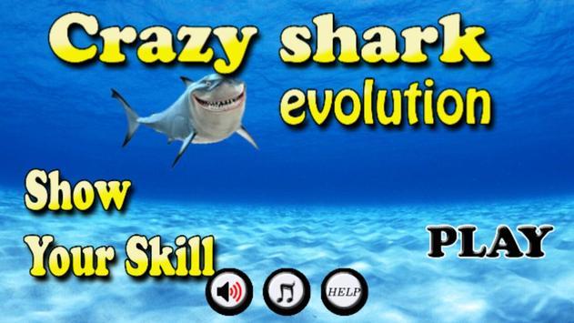 Crazy Shark Evolution poster