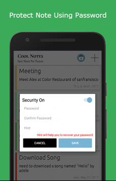 Cool Notes - Notepad & To Do screenshot 2
