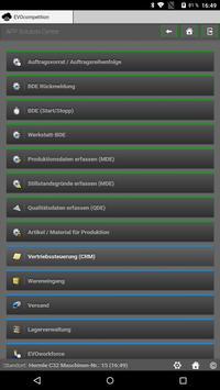 EVOconnect screenshot 1