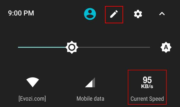 Network Speed - Monitoring - Speed Meter apk screenshot