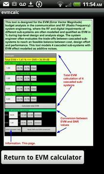 EVM Calculator screenshot 1
