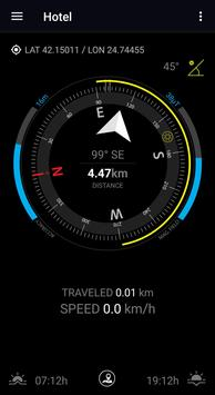 GPS Compass Navigator apk screenshot