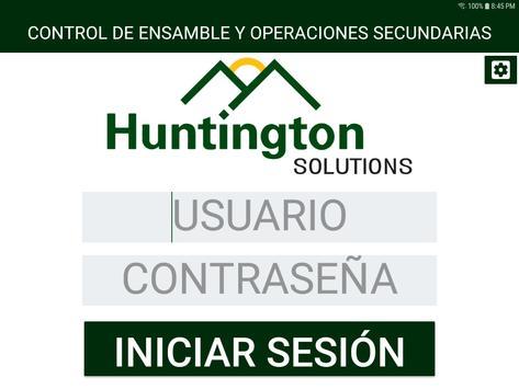 Control de Ensamble y Ope Secundarias screenshot 5