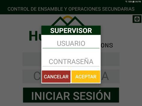 Control de Ensamble y Ope Secundarias screenshot 6