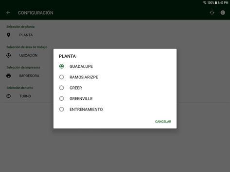 Control de Ensamble y Ope Secundarias screenshot 9
