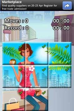Shopping Girl Puzzle screenshot 2