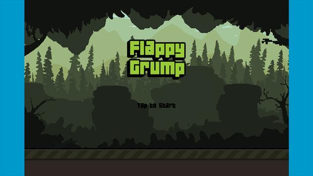 Flappy Grump Forest Rush screenshot 1