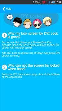 Lock Screen - My DIY Locker apk screenshot