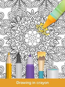 100 Mandala Coloring Pages Apk Screenshot