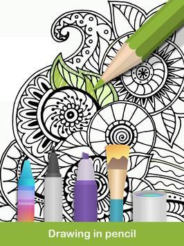 100 Mandala Coloring Pages Apk Screenshot