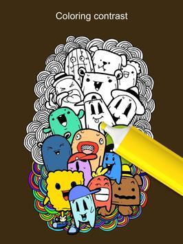 Doodle Coloring Books Apk Screenshot