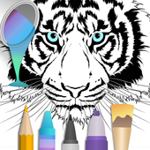 2020 for Animals Coloring Books icon