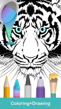 2020 for Animals Coloring Books poster