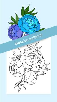 Flowers Coloring screenshot 2