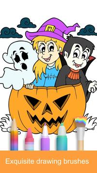 Halloween Coloring Books 2018 poster