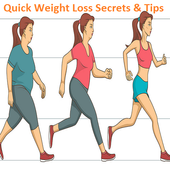 Quick Weight Loss Secrets & Tips icon