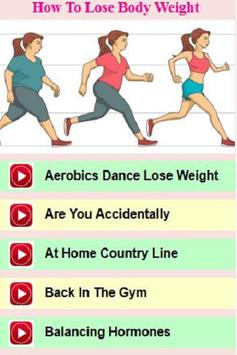 Quick Weight Loss Secrets & Tips poster