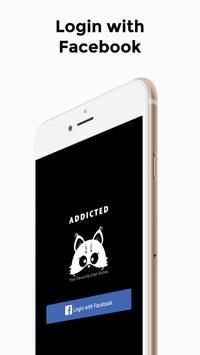 Addicted - Get Hooked on Scary Chat Stories poster
