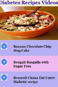 Diabetes recipes videos descarga apk gratis salud y bienestar diabetes recipes videos poster forumfinder Image collections