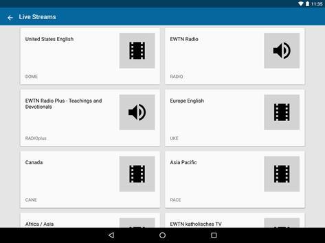 EWTN apk screenshot