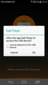 DAB Player poster