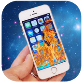 Fire Screen Effect Prank icon