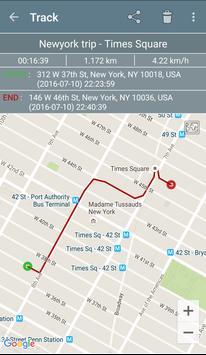 GPS Tracker screenshot 1