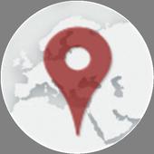 GPS Location Coordinates icon
