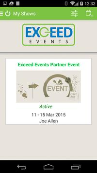 Exceed Events Mobile poster