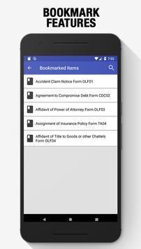 Legal Forms Pro screenshot 3
