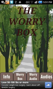 Worry Box---Anxiety Self-Help poster