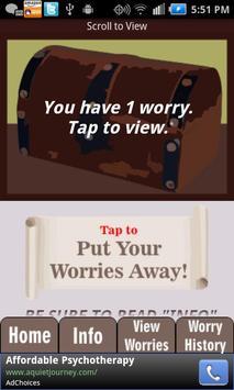 Worry Box---Anxiety Self-Help screenshot 1