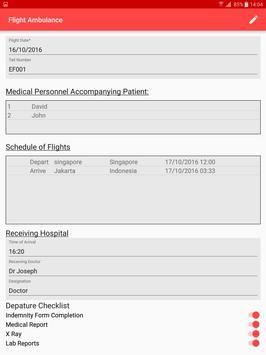ExcelForte Flight Ambulance apk screenshot