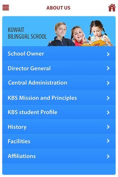Kuwait Bilingual School apk screenshot