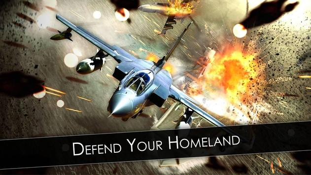 F16 vs F18 War Missile Gunner : Air Fighter Attack poster