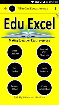 EduExcel - All in 1 App for SSC & IIT Preparation apk screenshot