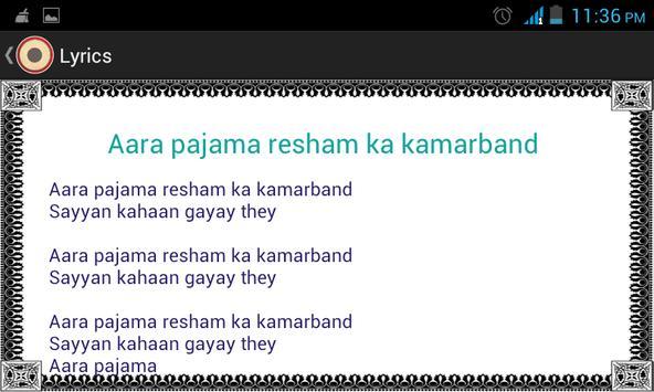 Dholki Lyrics screenshot 5