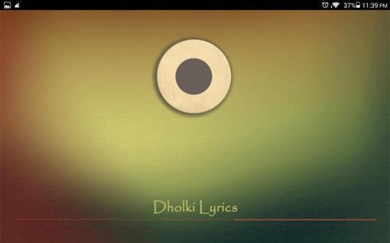 Dholki Lyrics screenshot 6