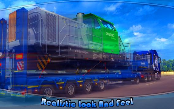 Heavy Machinery Transporter Truck Simulator screenshot 7