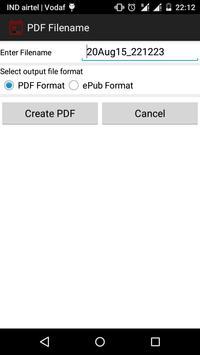 Backup Calendar Events To PDF screenshot 2