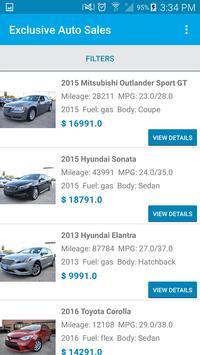 Exclusive Auto Sales screenshot 2