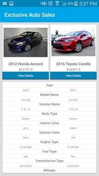 Exclusive Auto Sales screenshot 5